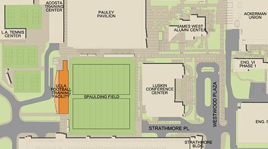 UCLA football facility