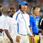 WE HAVE TEARS IN OUR EYES - COACH MORA WILL REMAIN AT UCLA